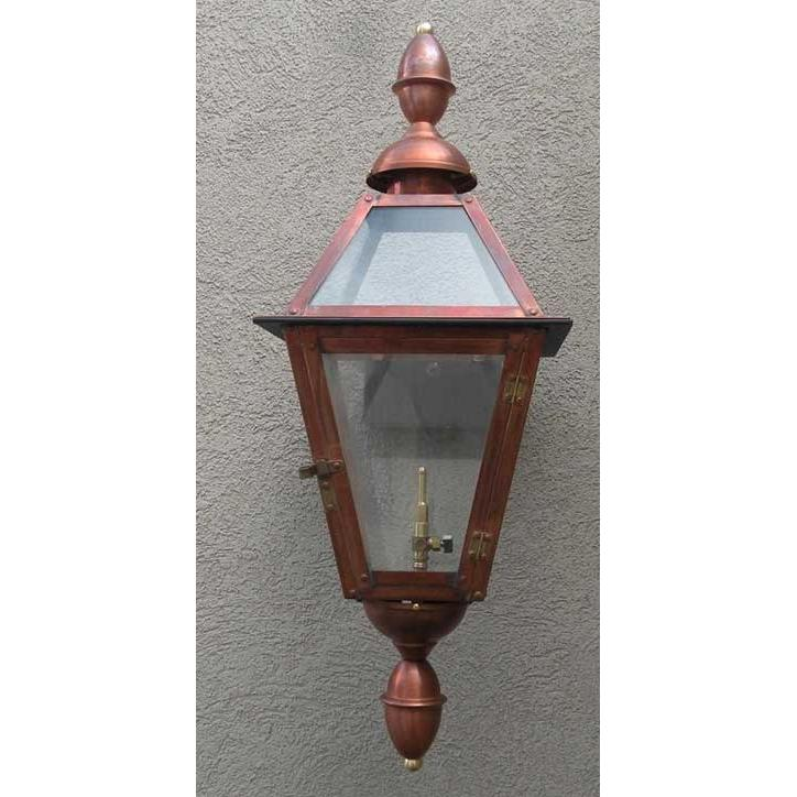 Regency GL18CTCB Chalmette II Natural Gas Light With Open Flame Burner And Electronic Ignition On Wall Mount