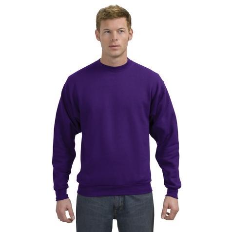 Hanes ComfortBlend Crewneck Sweatshirt Small - Purple