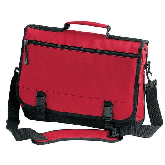 Port & Company Basic Expandable Briefcase - Red