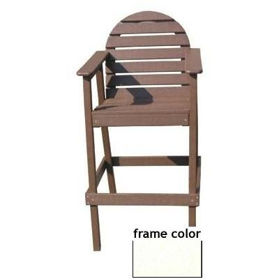 Eagle One Recycled Plastic Captains Chair - White