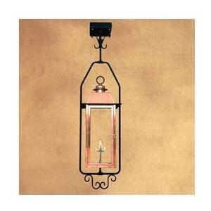 Legendary Lighting Vulcan 1 Copper Natural Gas Light With Yoke Bracket