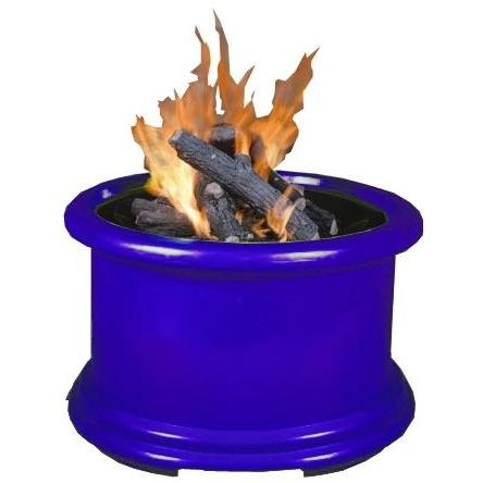 California Outdoor Concepts Island Series Deep Blue Fire Pit
