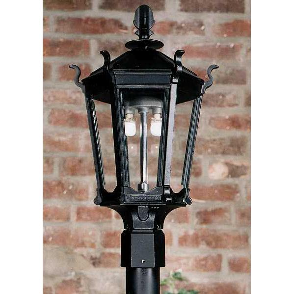 Mantle for outdoor gas light