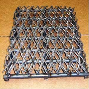 Horizon Smokers Heavy Duty Firebox Charcoal Grate For 20 Inch Classic And Longhorn Smoker Grills
