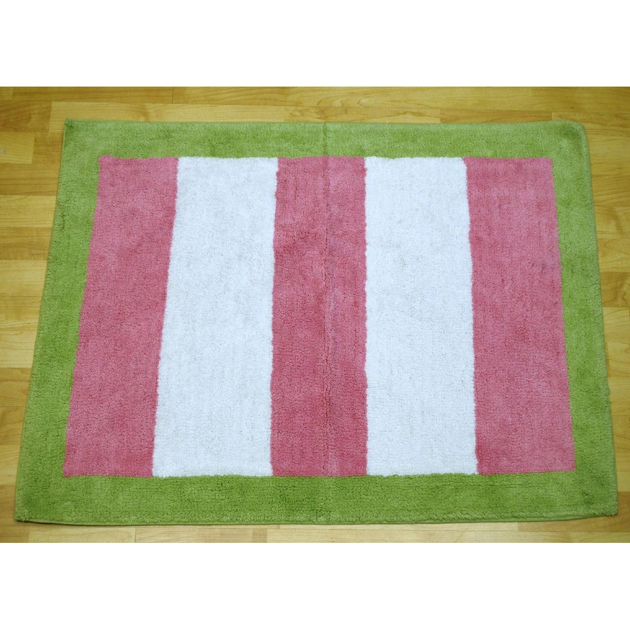 My Baby Sam Rug - Pink/Lime