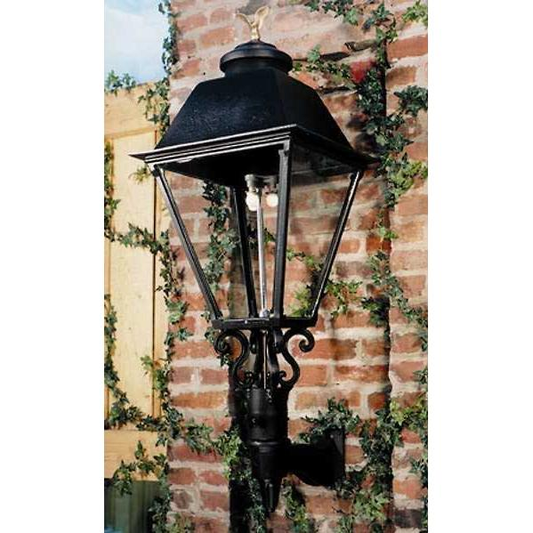 Gaslite America GL3000 Cast Aluminum Manual Ignition Natural Gas Light With Dual Mantle Burner And Standard Wall Mount
