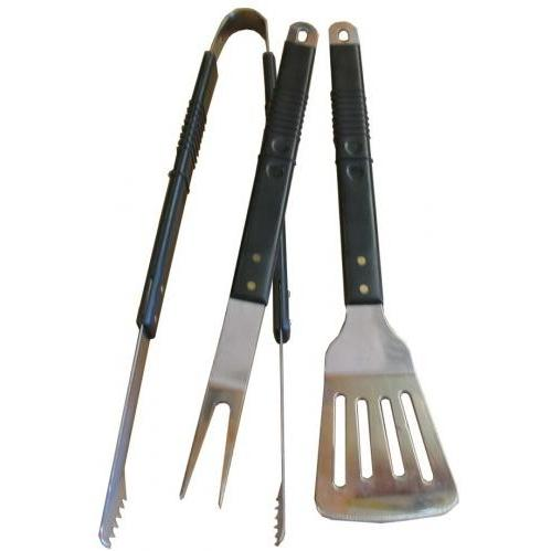 BBQ Guys 3 Piece Stainless Tool Set