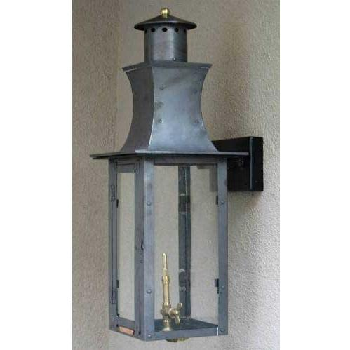 Regency GL30 Governor Natural Gas Light With Open Flame Burner And Electronic Ignition On Ceiling Basket Mount