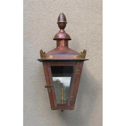 Regency GL18LT Augustus Natural Gas Light With Open Flame Burner And Electronic Ignition On Wall Mount