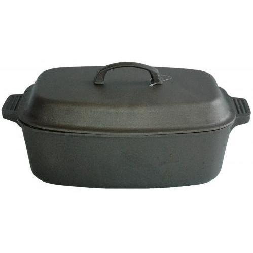Cajun Cookware Pots Large 15 Quart Oval Casserole Pot