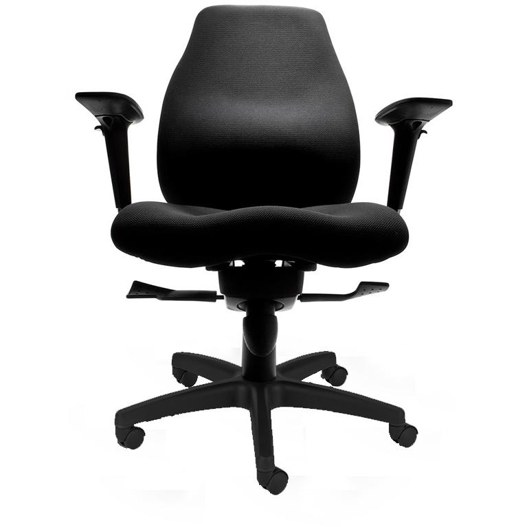Mac Motion Black Office Chair - CTF-3140-B-AB