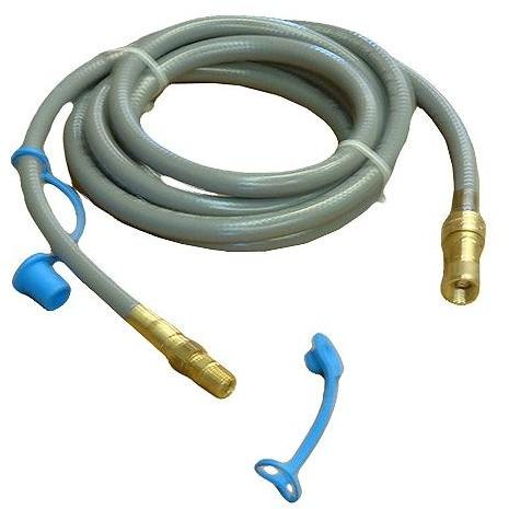 1/2 Inch Natural Gas Hose W/ Quick Disconnect