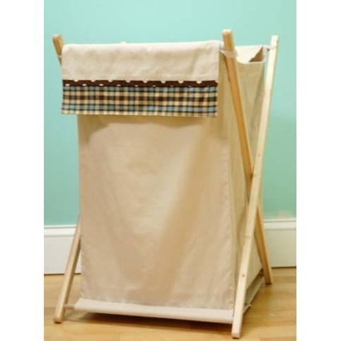 My Baby Sam Hamper - Blue Mad About Plaid