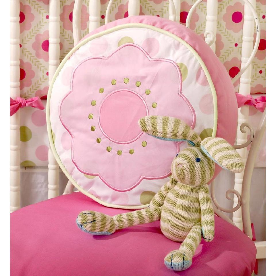 My Baby Sam Throw Pillow - Garden Party