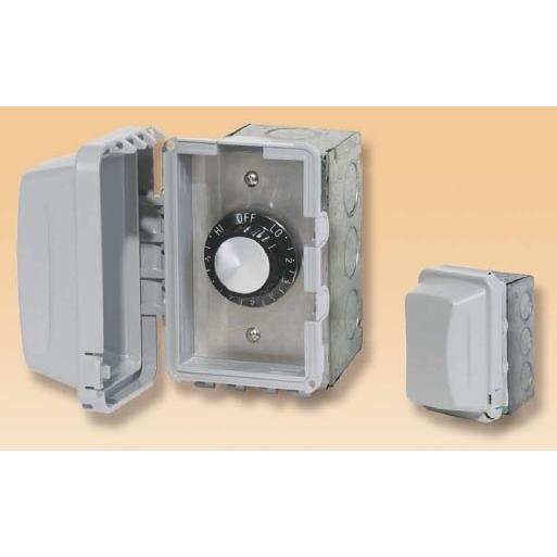 120V Input Regulator Stainless Steel Plate Deep Gang Box And Waterproof Cover