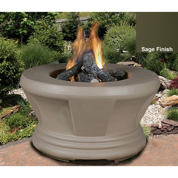 California Outdoor Concepts Cardiff Sage Fire Pit