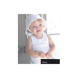 Bella Baby Infant 2x1 Rib Tank Top 6-12 Month - Black
