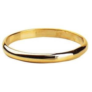 Elegant Baby Infant Gold Band Ring
