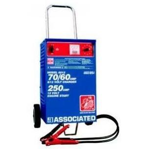 Associated Equipment Battery Charger 6/12Volt - 70 Amp, 500 Amp Boost