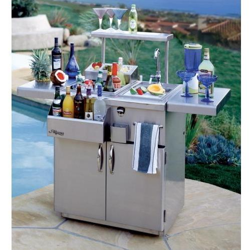 Alfresco 30 Inch Bartender With Sink On Cart