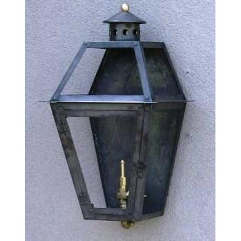 Regency GL18F Beaumont Flat Natural Gas Light With Open Flame Burner And Electronic Ignition On Wall Mount