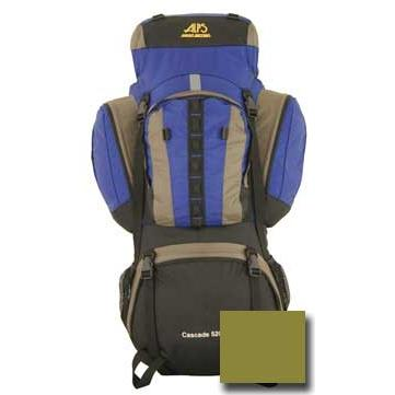 ALPS Mountaineering Cascade 5200 Internal Frame Pack Olive