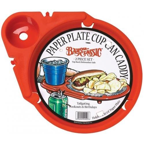 Bayou Classic Paper Plate Cup Can Caddy