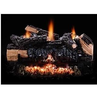 Hargrove Gas Logs 30 Inch Cumberland Vent-Free Natural Gas Log Set & Manual Safety Pilot