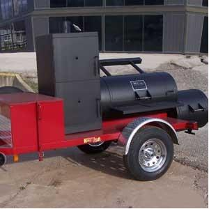 Horizon Smokers 24 Inch Ranger Trailer Smoker Grill