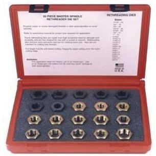 Kastar Hand Tools Master Spindle Rethreader Die Set