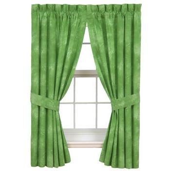 Karin Maki Window Curtain - Caribbean Coolers Lime