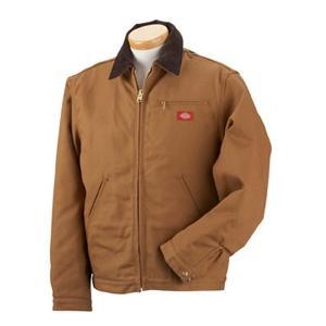 Dickies Duck Blanket Lined Jacket Large - Brown Duck