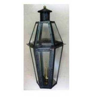 Regency GL27 Plantation Natural Gas Light With Open Flame Burner And Electronic Ignition For Post Mount