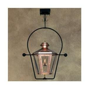 Legendary Lighting Apollo 1 Copper Natural Gas Light With Yoke Bracket And Electronic Ignition