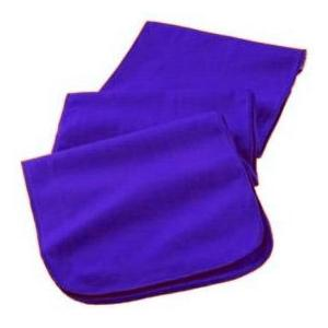 Augusta Full Length Athletic Fleece Scarf - Royal