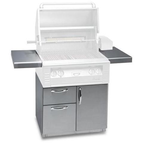 Alfresco 30 Inch Grill Cart - Deluxe Grill Cart With Door And Drawers