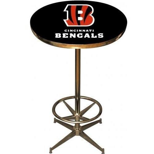 Imperial International Cincinnati Bengals Pub Table