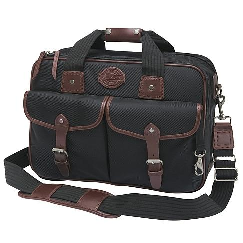 Filson Passage Saddlebag Briefcase Black