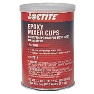 Loctite Ten .12oz Epoxy Mixer Cups Fast Cure