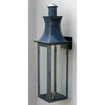 Regency GL37 Ambassador Natural Gas Light With Open Flame Burner And Electronic Ignition On Ceiling Basket Mount
