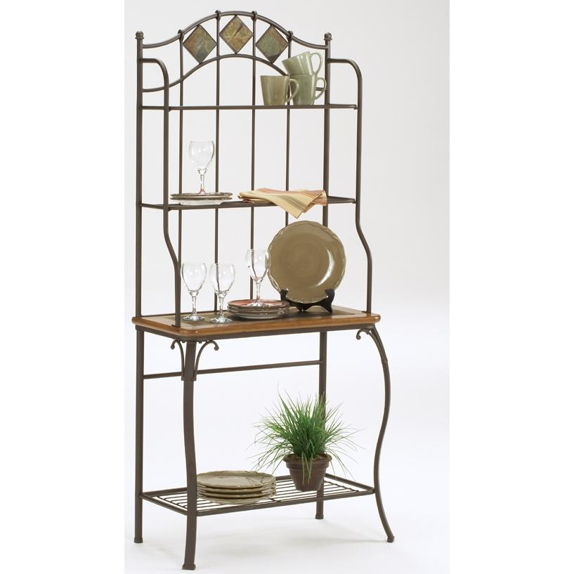 Hillsdale Lakeview Bakers Rack Slate - 4264-850
