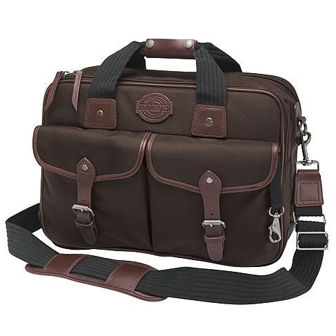 Filson Passage Saddlebag Briefcase Brown