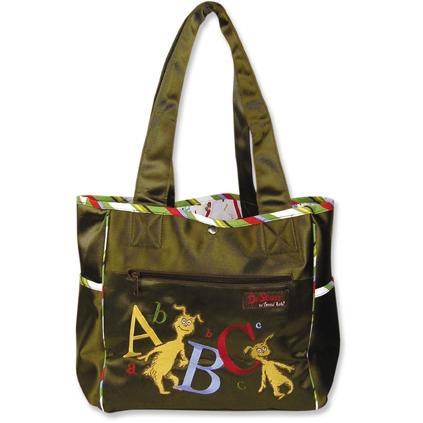 Trend Lab Tulip Tote Diaper Bag - Dr Seuss ABC