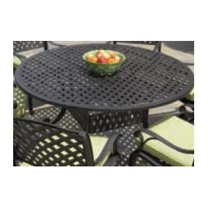 Alfresco Home Weave 60 Inch Round Table & Base - Antique Fern