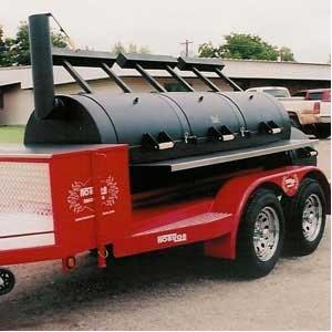 Horizon Smokers 30 Inch Triple Door Trailer Smoker Grill