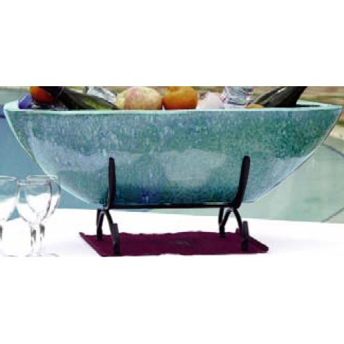 Alfresco Home Nave Beverage Cooler - Antique Topazul
