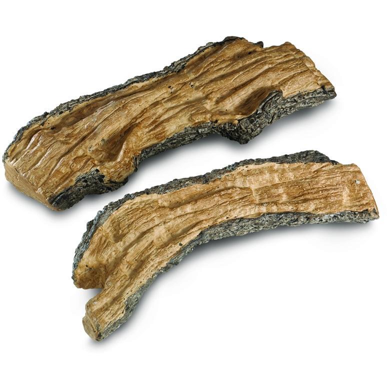 Peterson Gas Logs Decorative Special Split Logs - Set Of 2