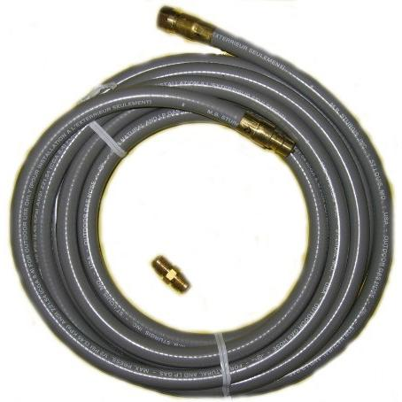 PGS Natural Gas Hose With Quick Disconnect