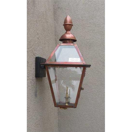 Regency GL18CT Beaumont III Natural Gas Light With Open Flame Burner And Electronic Ignition On Wall Mount