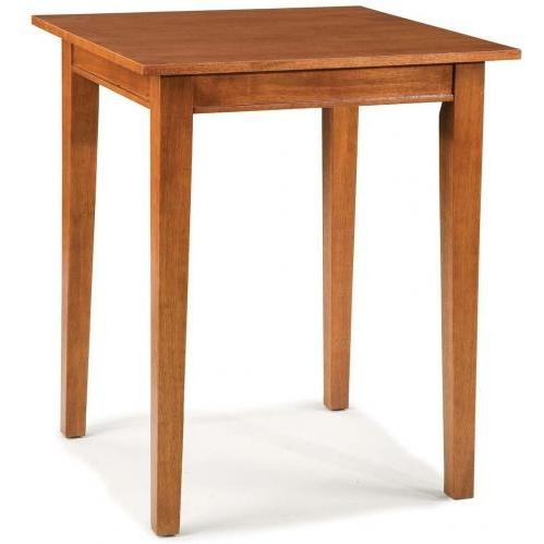 Home Styles Arts And Crafts Bistro Table - Cottage Oak - 5180-35